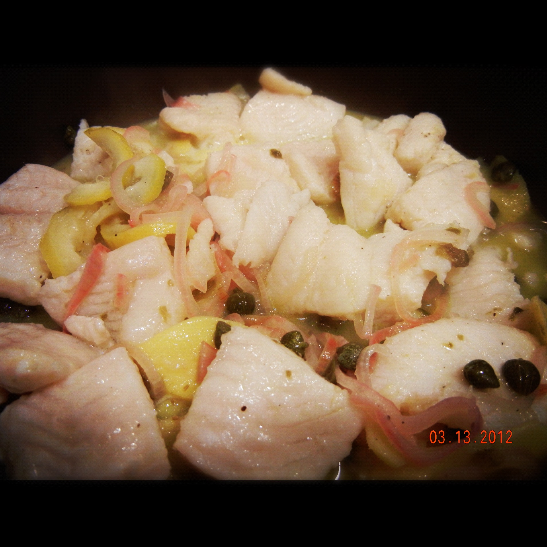 Basa Fish Fillet Cooked In Lemon Sauce Doyd74