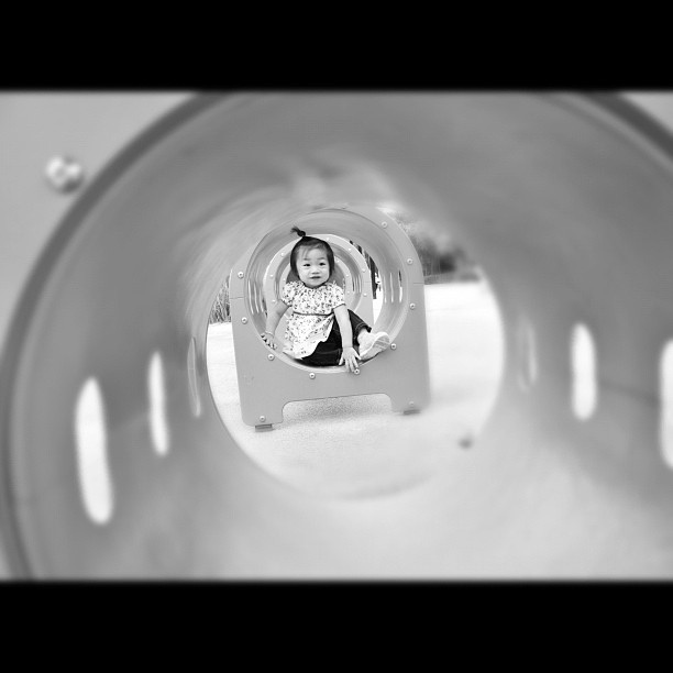 #toddler #crawl #tunnel @Woodbury Community Park_7553818422_l